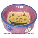 Ceramic Cat Feeding/Water Bowl