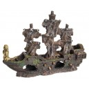Pirate Shipwreck Aquarium Ornament