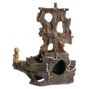 Aquarium Ornament Large 2 Piece Shipwreck