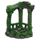 Roman Ruin with Moss Aquarium Ornament