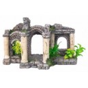 Underwater Roman Pavillion Aquarium Ornament