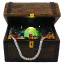 Air Bubble Treasure Chest with LED