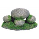 Pebbles with Moss Fish Tank Product