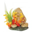 Aquarium Stone with Plants Decor 1