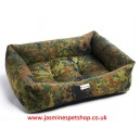 Polyester Faux Fur Dog Bed