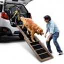 Wooden Pet Dog Ramp Telescopic Step Stairs Ladder Car