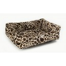 Polyester Box Dog Bed